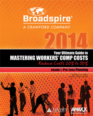 Custom Branded Cover of Mastering Workers Comp Costs