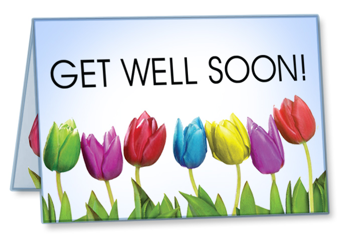 Get Well Cards Package Of